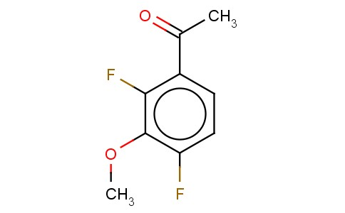 373603-19-1 | 2,4-Difluoro-3-methoxy acetophenone