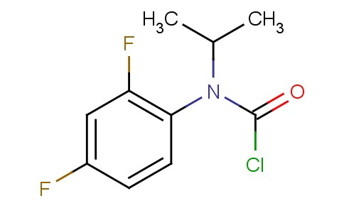 212203-09-3 | N-(2,4-difluorophenyl)-N-(1-methylethyl) Carbamic chloride